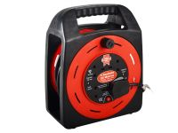 Faithfull Cable Reel 13A 4 Socket Thermal Cut Out 20m 230 Volt